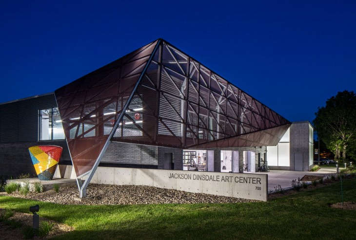 Jackson DinsdaleArt Center,Hastings College -