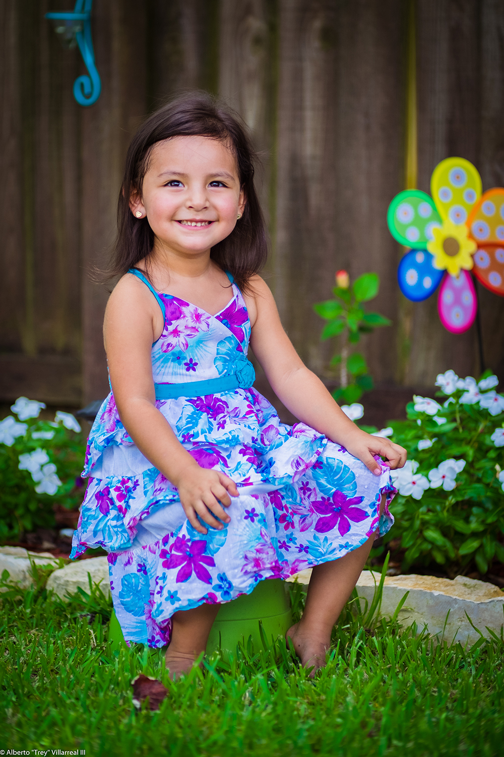 Aviana's Easter Portrait