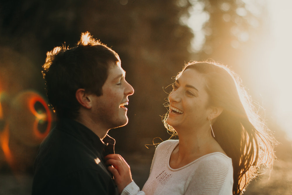 BRITTANY + KENT - Engagement shoot in the Pacific Northwest
