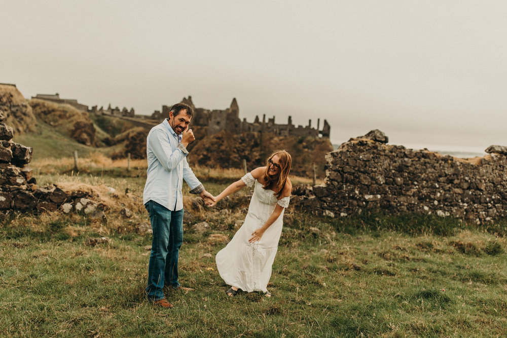CINDY + JAMES - Northern Ireland Engagement Shoot
