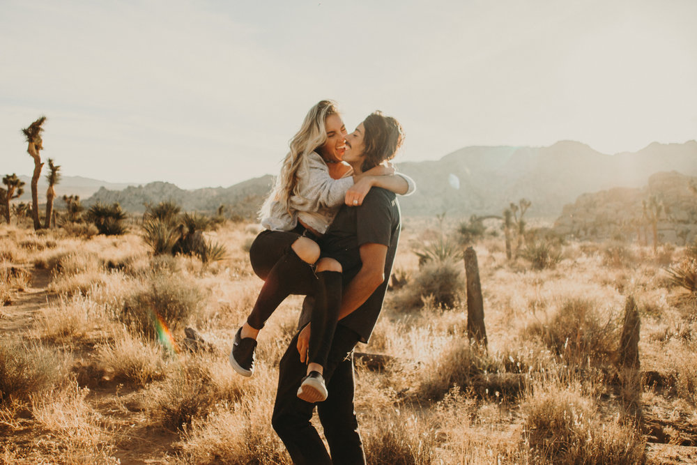 Summer + Jeff   Joshua Tree // Engagement