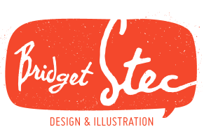 Bridget Stec: Graphic Design / Illustration / Surface Design