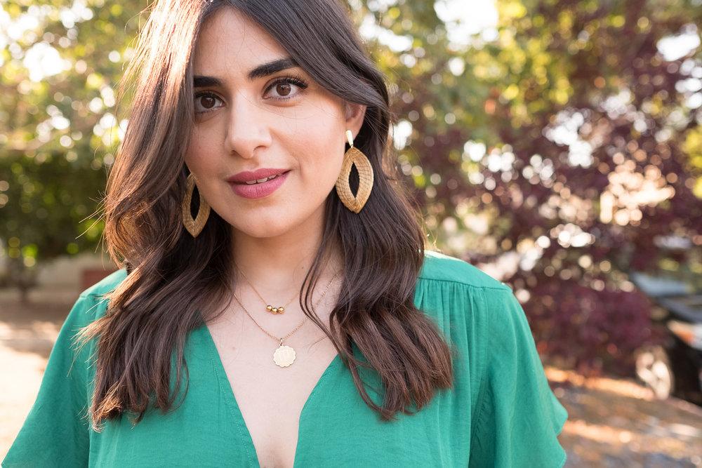 Noyemi Kelemdjian statement earrings