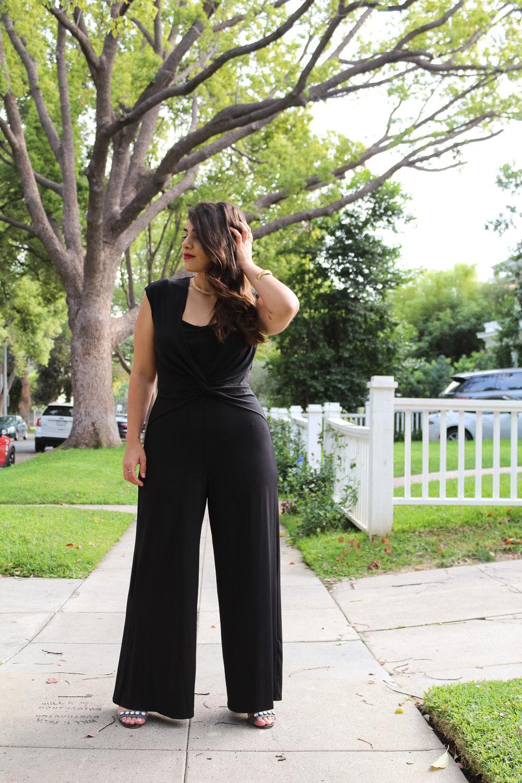 Noyemi Kelemdjian Black jumpsuit