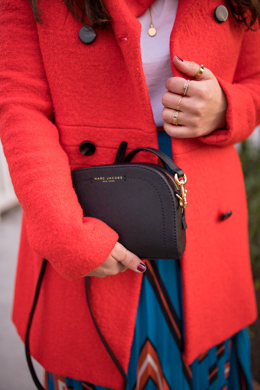 How to Layer rings from madewell argento vivo and henri bendel