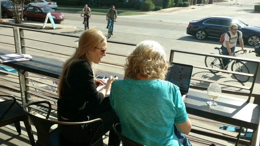 Usability testing with strangers at coffee shops