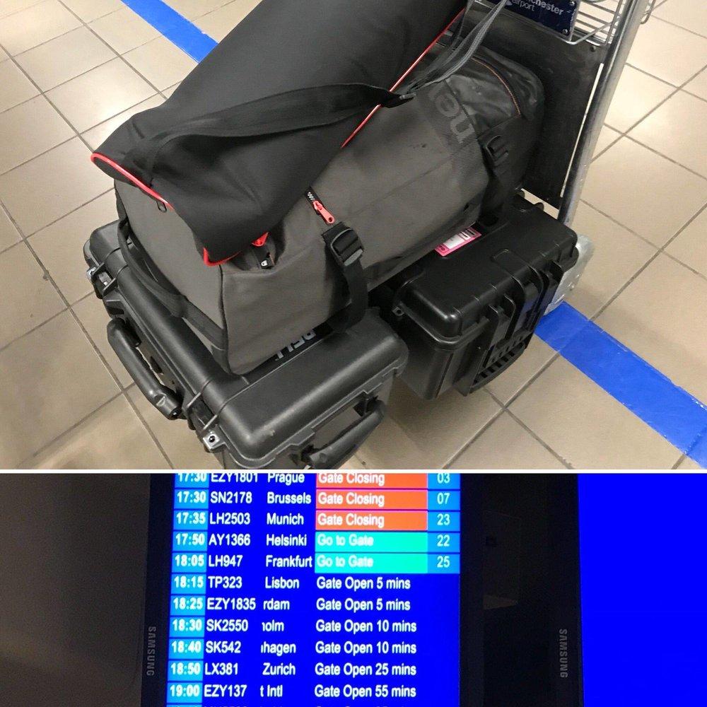 travelling light - filmmaking kit