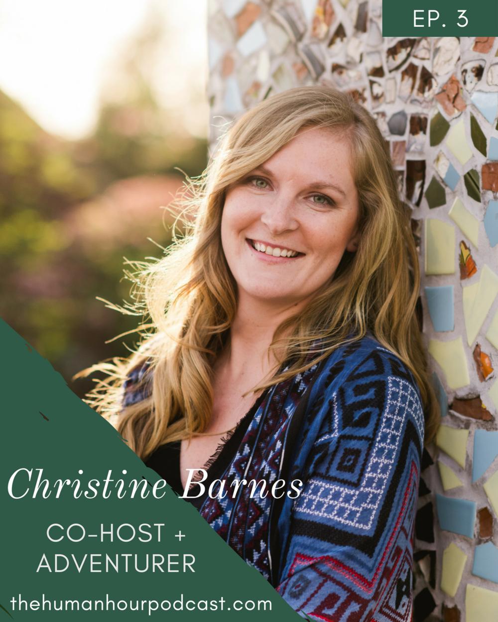 S1 E3: Meet Christine Barnes