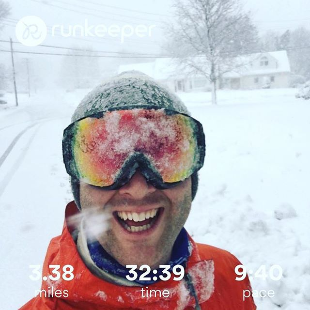 @justinobey out there training in today's blizzard. #alwaysbeepic #epm10 #epicman