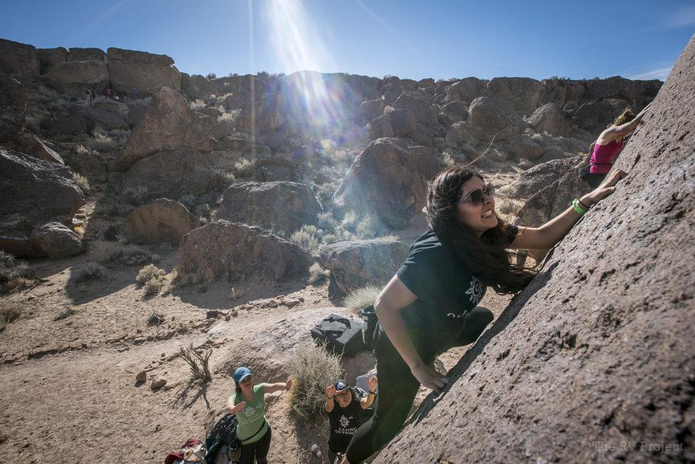 FlashFoxy_Women_s Climbing Festival_Bishop2017.jpg