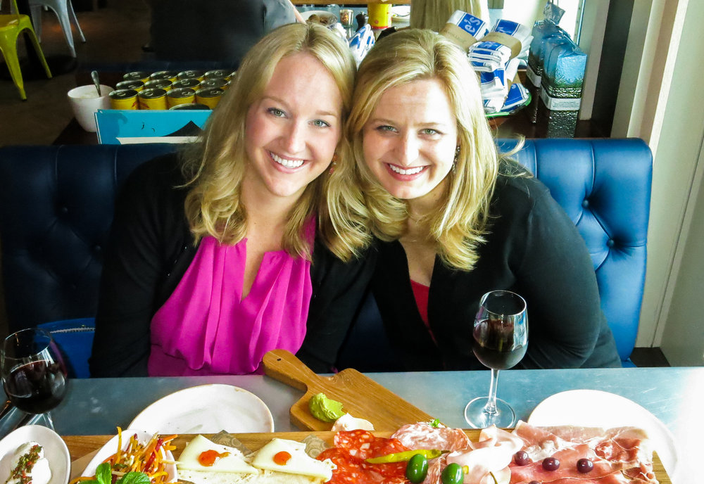2015,   Anthem of Seas dinner at Jamie Oliver's with epic charcuterie boards
