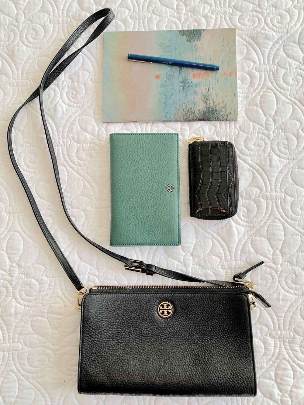 Purse-in-a-Purse + Travel Notepad/Pen -