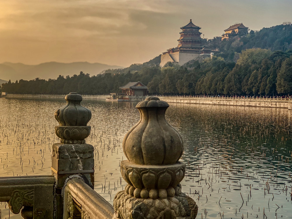 Sunset at the Summer Palace…unforgettable