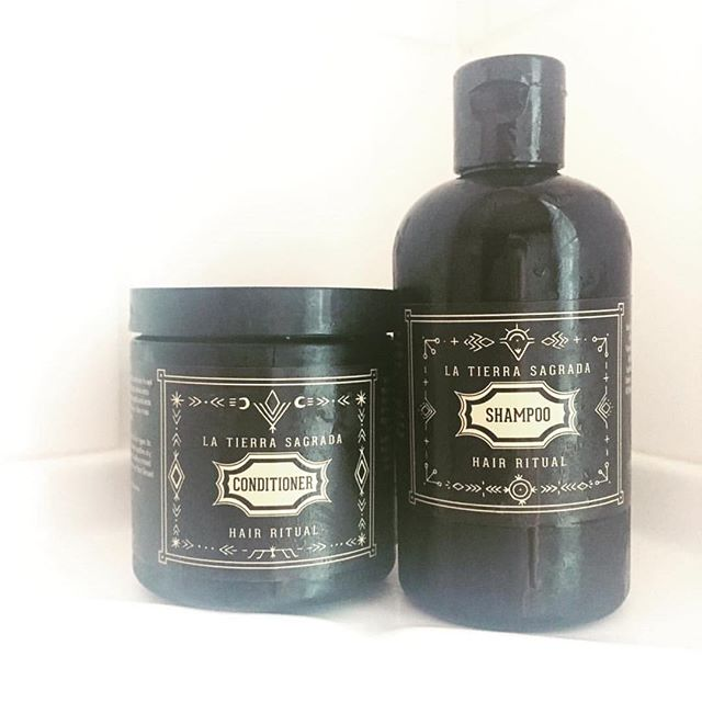 🌑🌕On this significant full-moon, blue moon, lunar eclipse day, it feels fitting to share that I am really, truly, over-the-moon excited that we will be carrying a selection of La Tierra Sagrada's amazing hair care line in our apothecary starting next week. 🌑🌕Creator Stefani Padilla's all-natural hair products focus on the use of healing through sacred plants and bringing in the act of ritual and deep self-care in our daily hair routines. Even if I was not lucky enough to call this magical woman a friend, I feel certain that after experiencing their mind-blowingness for myself, there is no way I could go back to using anything else. @latierrasagradahair