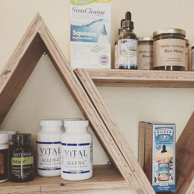 The sun is out and you should be enjoying it!☀️☀️☀️ We have a wide variety of natural eastern and western herbal and nutritional approaches to allergy relief in our front apothecary. Don't let spring allergies hold you inside 😷🌸!!🌸🌸🌸🌸If you are someone who spring allergies hit really hard, know that acupuncture and cupping are also fantastic options to relieve your symptoms once allergy season has started. #breathe #willamettevalley #allergyseason