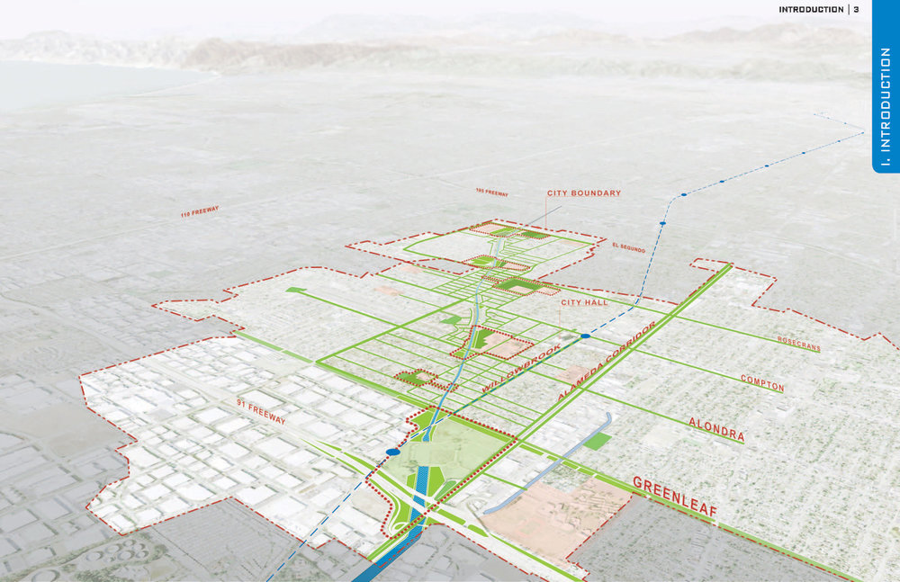 Compton Creek Master Plan - Los Angeles, CA