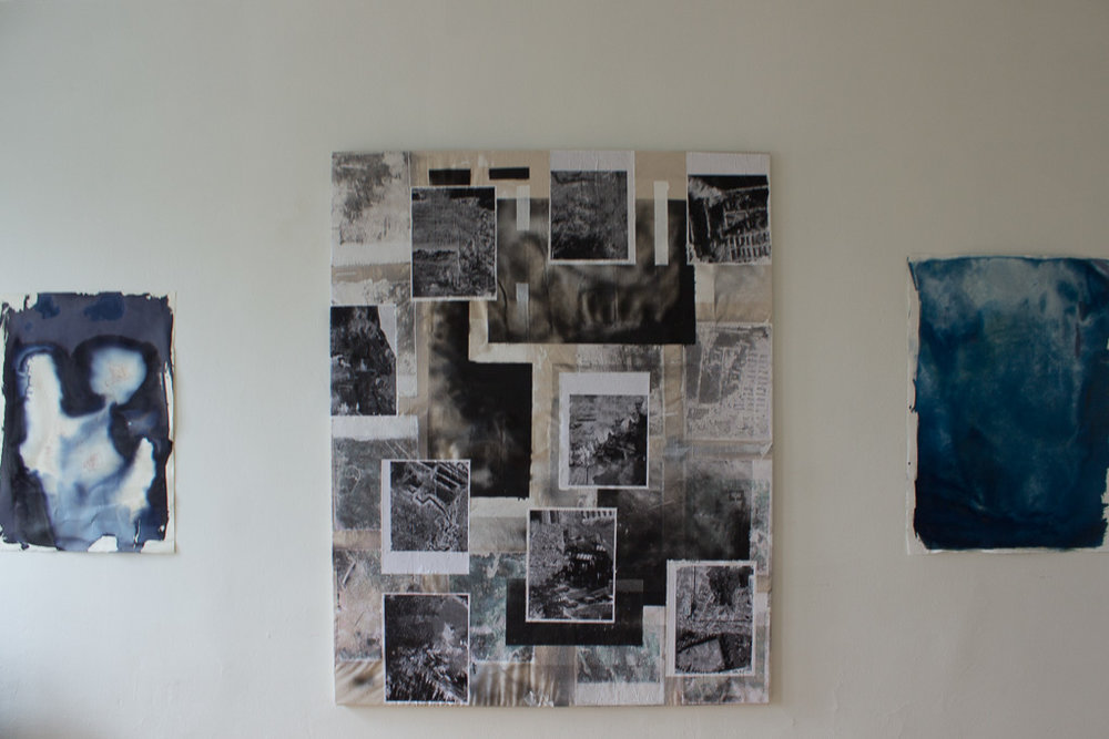 Installation view of  a document, itself