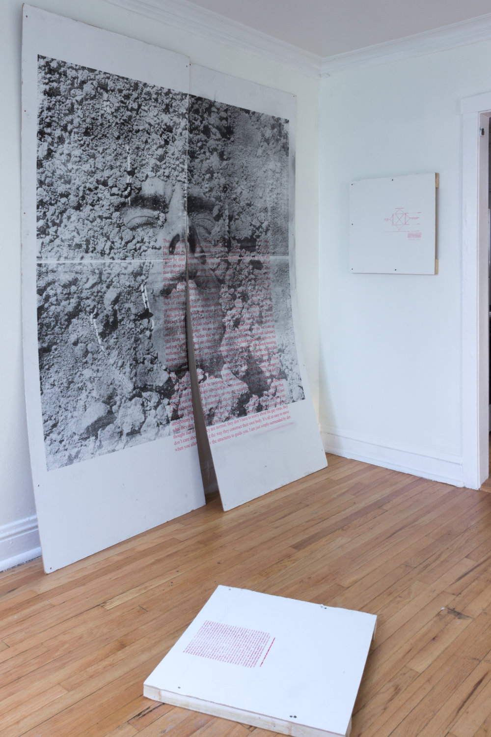 Installation view at Apparatus