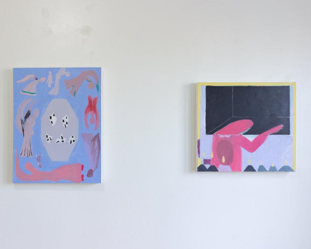 Installation view,  Jenn Smith: Divine Ventriloquism