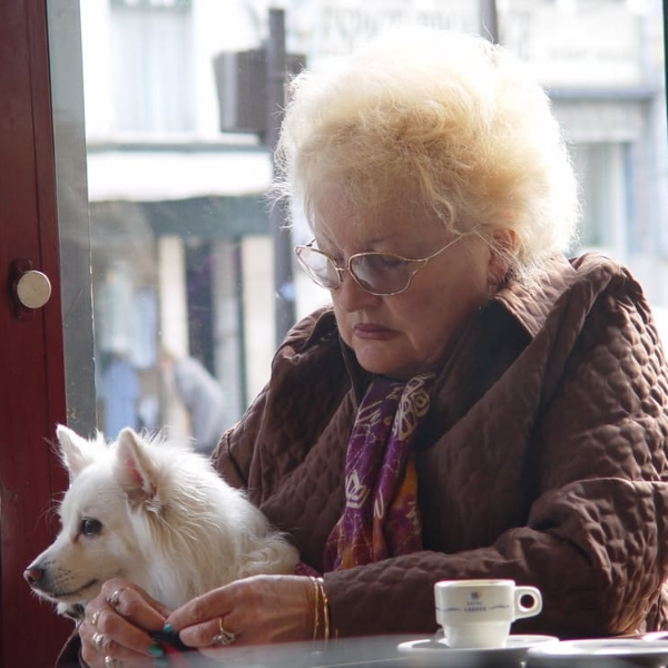 One of the hardest things is when a senior is forced to give up their pet. This should be avoided whenever possible.