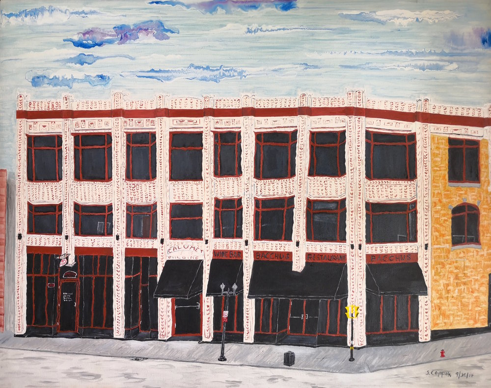 Stephen Coppola, Calumet, Oil on canvas, 22 x 28 inches (55.9 x 71.1 cm),