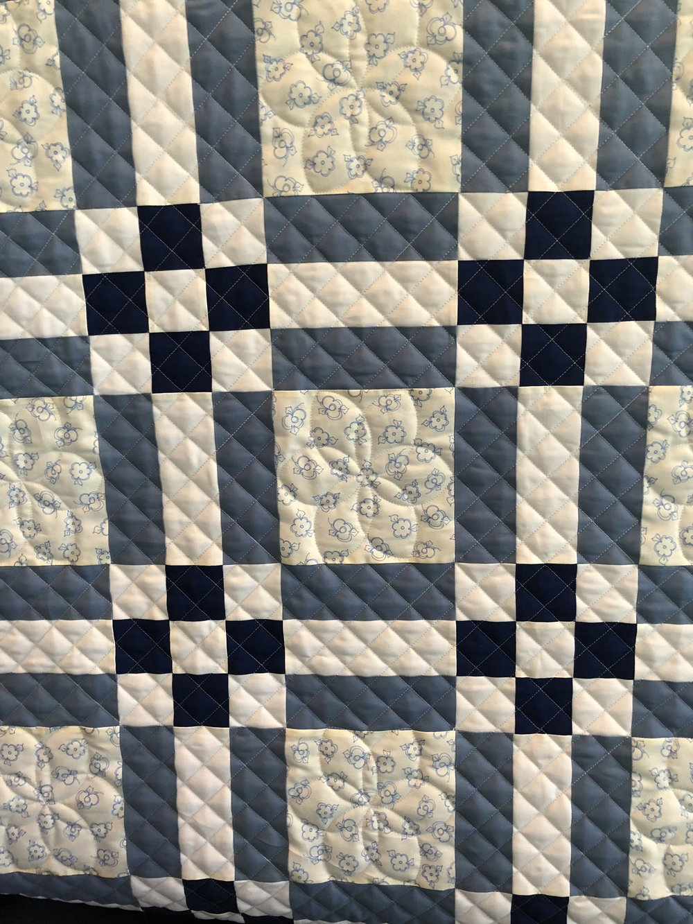 Kathy's Quilt: Featuring Megan Best's Cross Hatch design