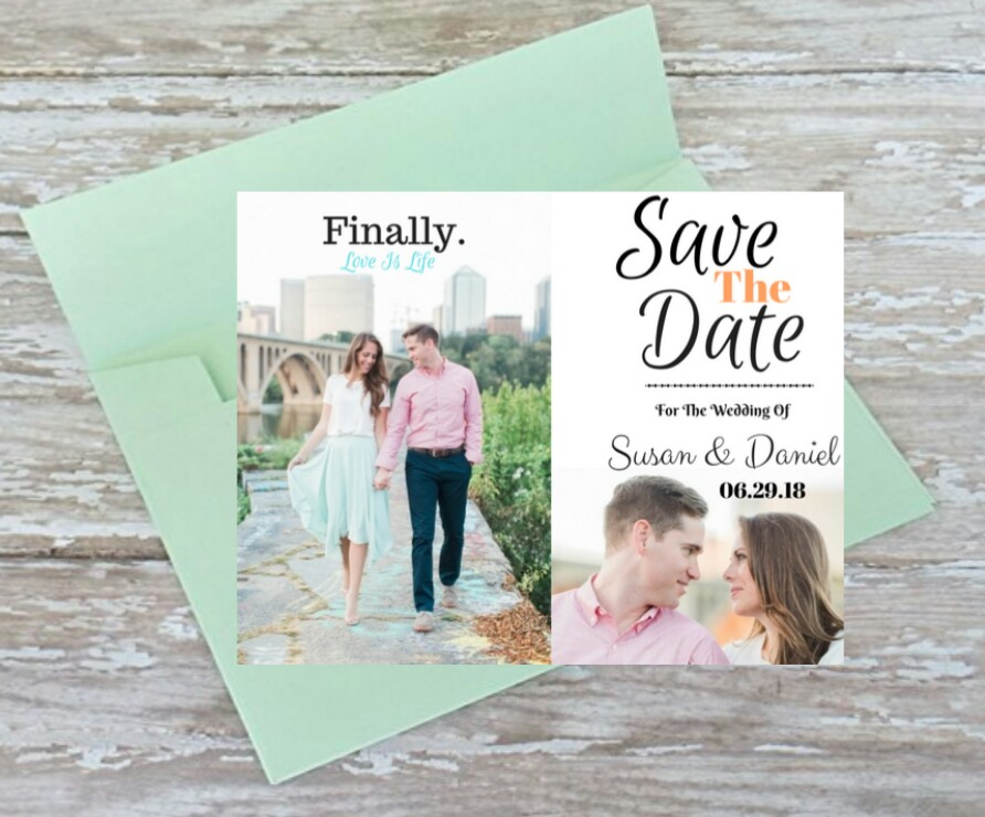 Save The Dates  Starting At $95 For 100 Save The Dates. - Announce your big day in a huge way with personalized classic save the dates. Personalize your card to match your wedding theme, style and colors.