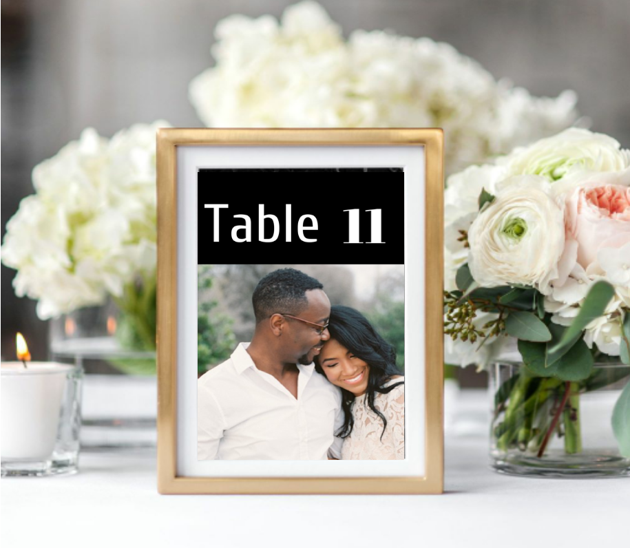 Arrange, Sit and Enjoy - Seat your wedding guest in style with place cards, tables numbers, tables names and escort cards for your wedding reception.