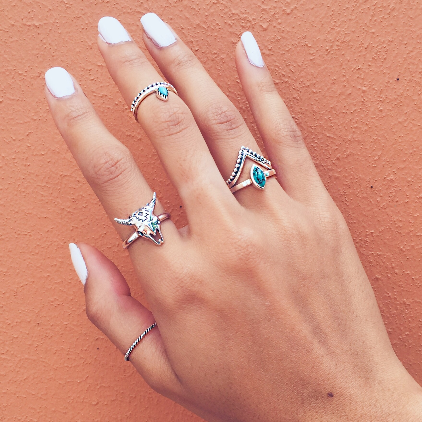 1 STATEMENT + 2 STACKABLE SEPARATES + 1 MIDI + 1 THUMB RING