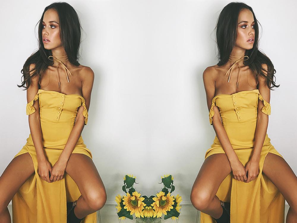 Caribou Maxi Dress