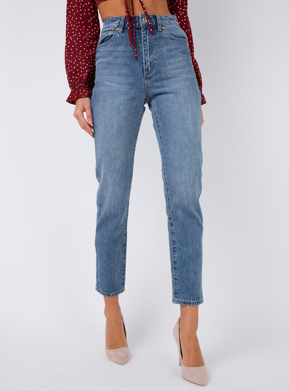 ABRAND WALLFLOWER 94 HIGH SLIM JEANS