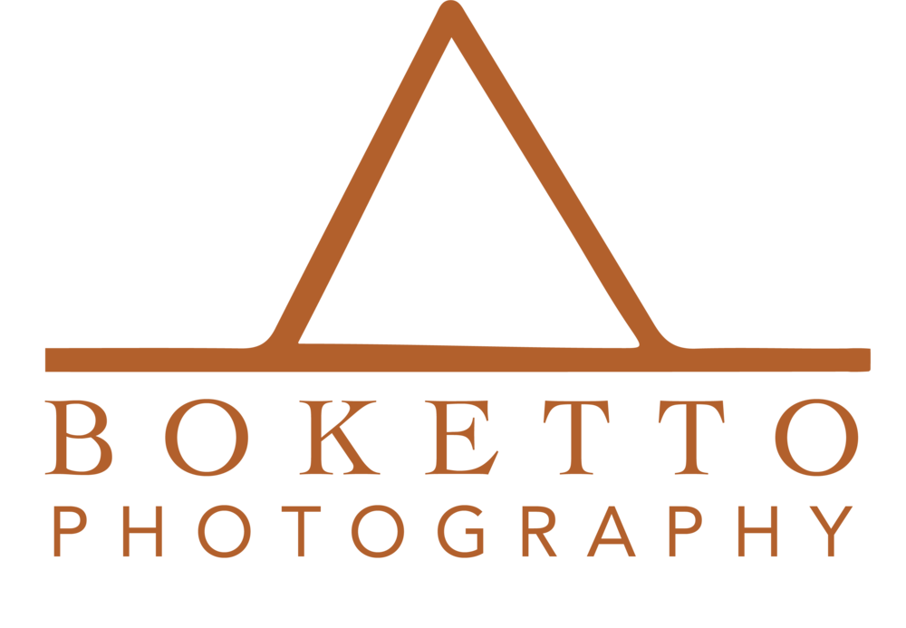 Boketto photography - Logo and ReBrand October 2018