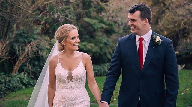 Chloe + Tom's wedding video is live ⚡️ link in bio
