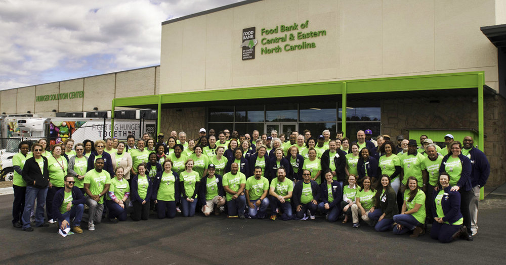 Food Bank of Central & Eastern North Carolina's Team