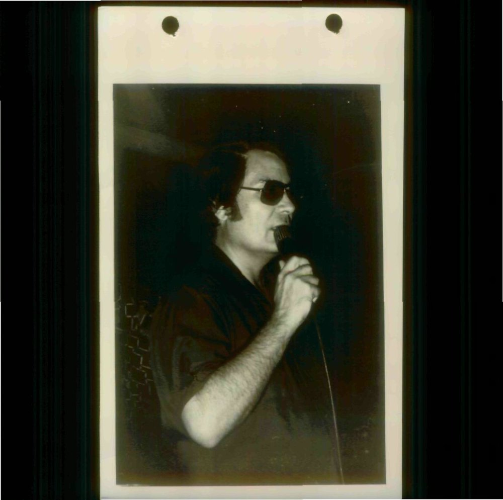 Jim Jones speaking to Peoples Temple in 1978.  Photo courtesy of Laura Johnston Kohl via Peoples Temple/Jonestown Gallery (Flickr)