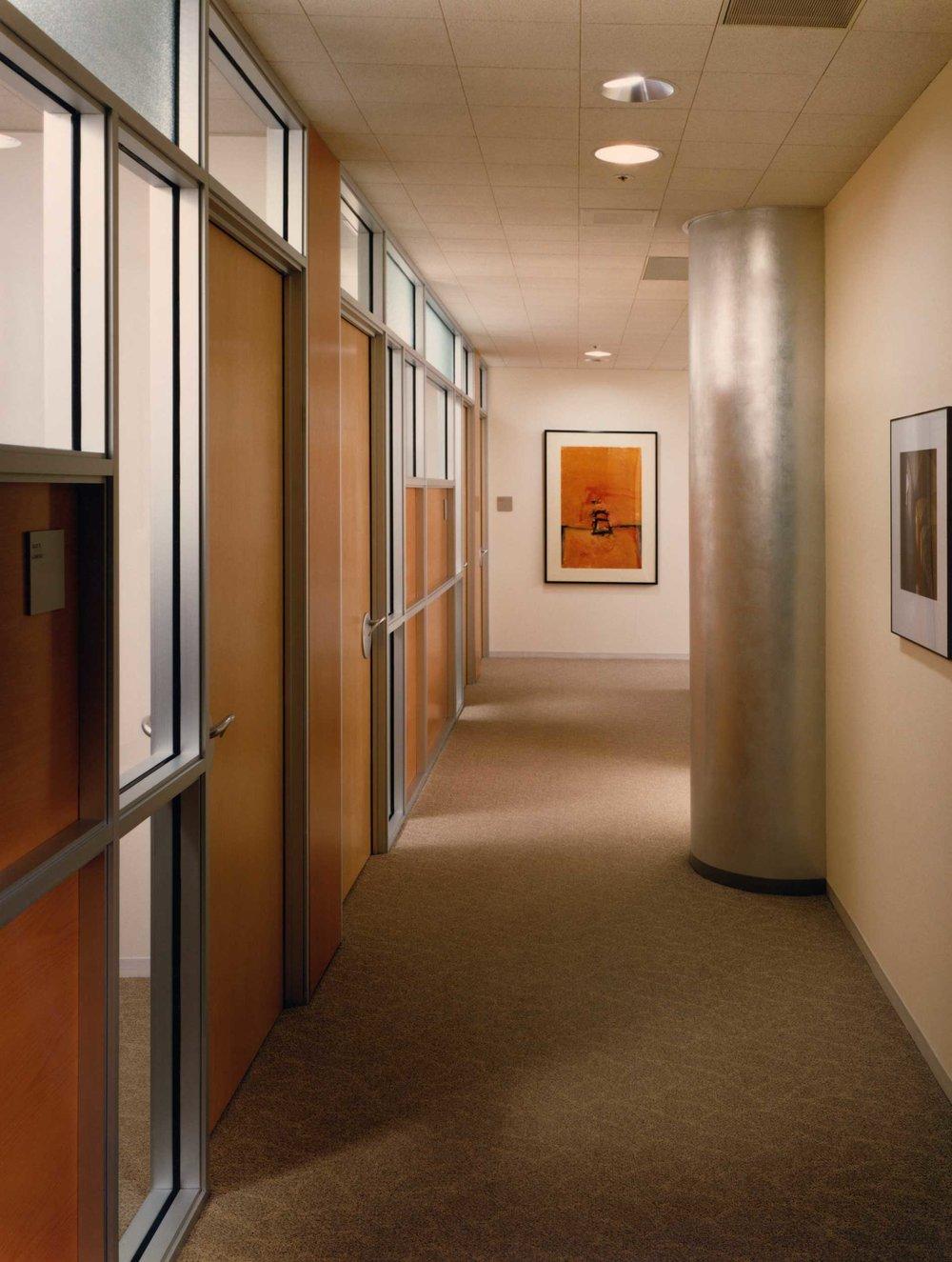 Main Office Corridor