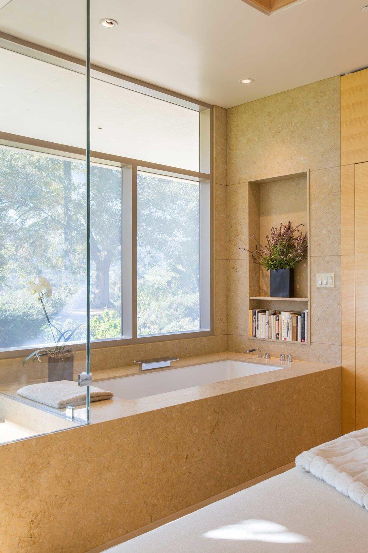 View of Master Bath Soaking Tub