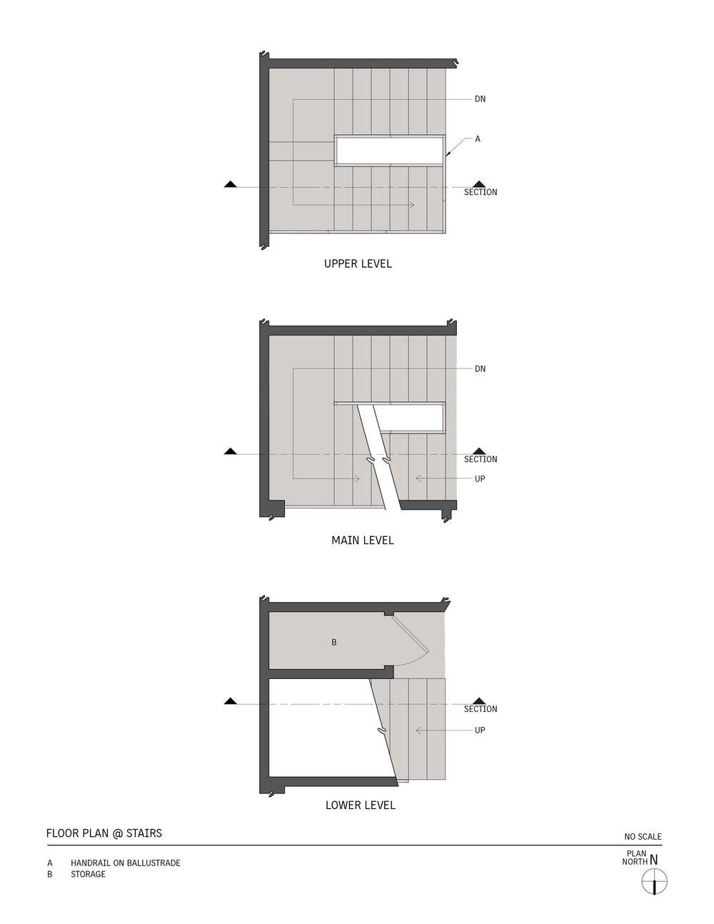Stairs - Plan