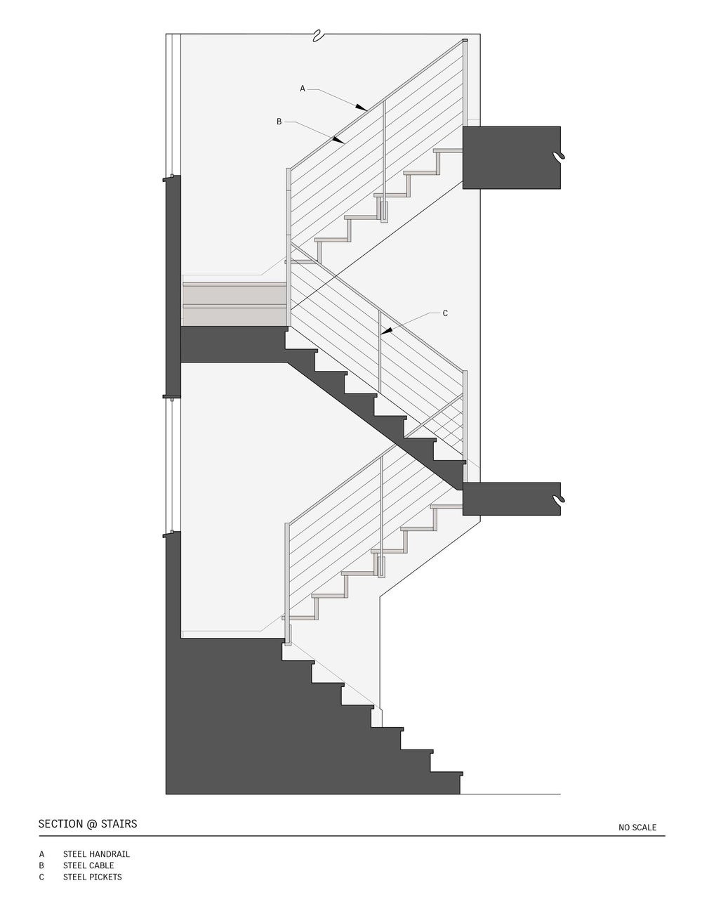 Stairs - Section