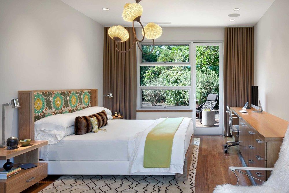 Looking from Master Bedroom toward Deck