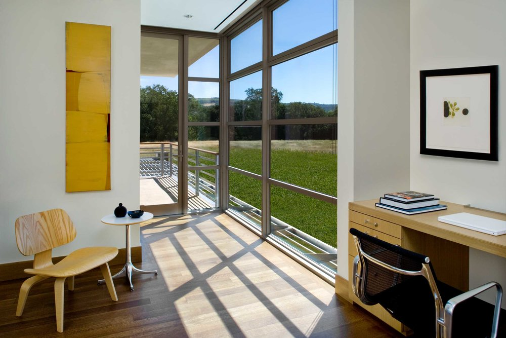 View of Meadow from Private Office
