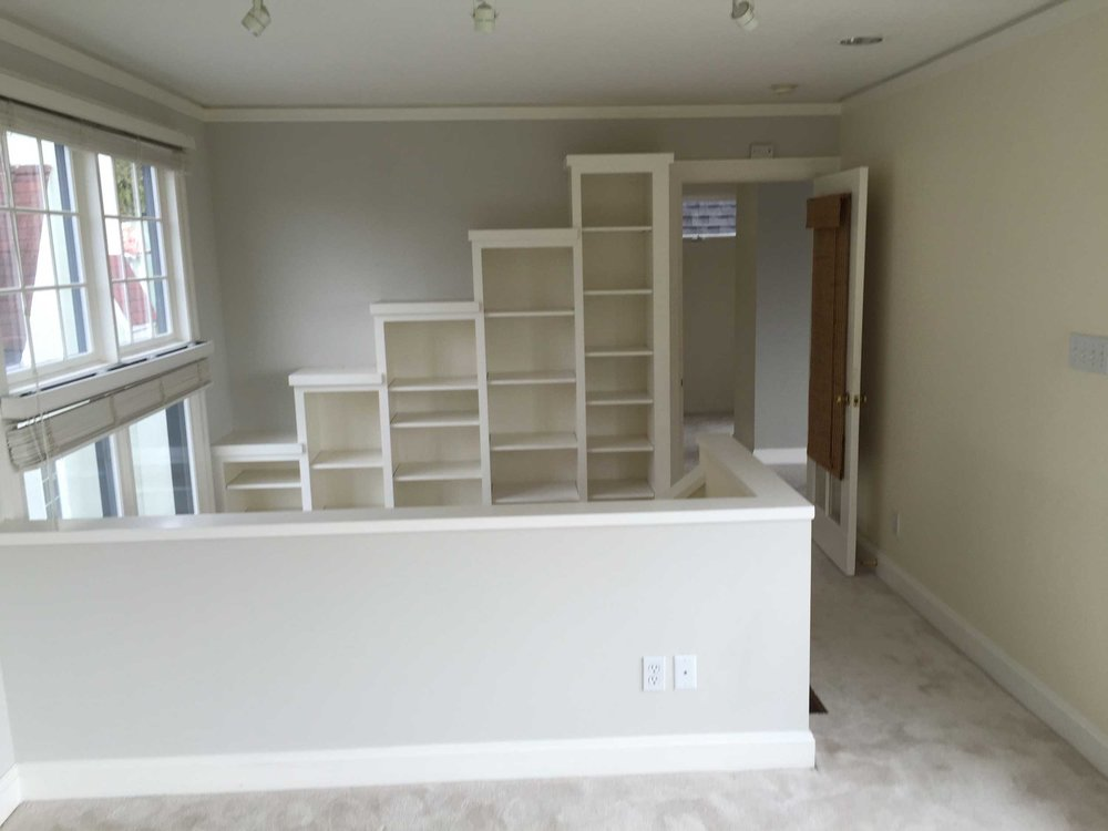 Sitting Room Stair Bookcase