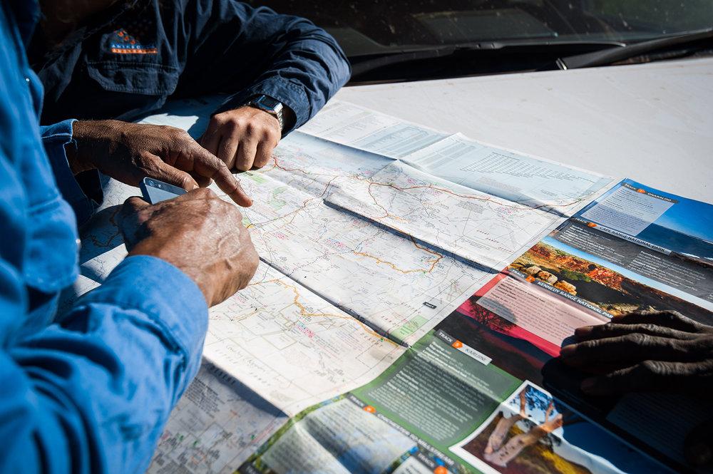 Indigenous Mapping: Photo: Chris Gurney