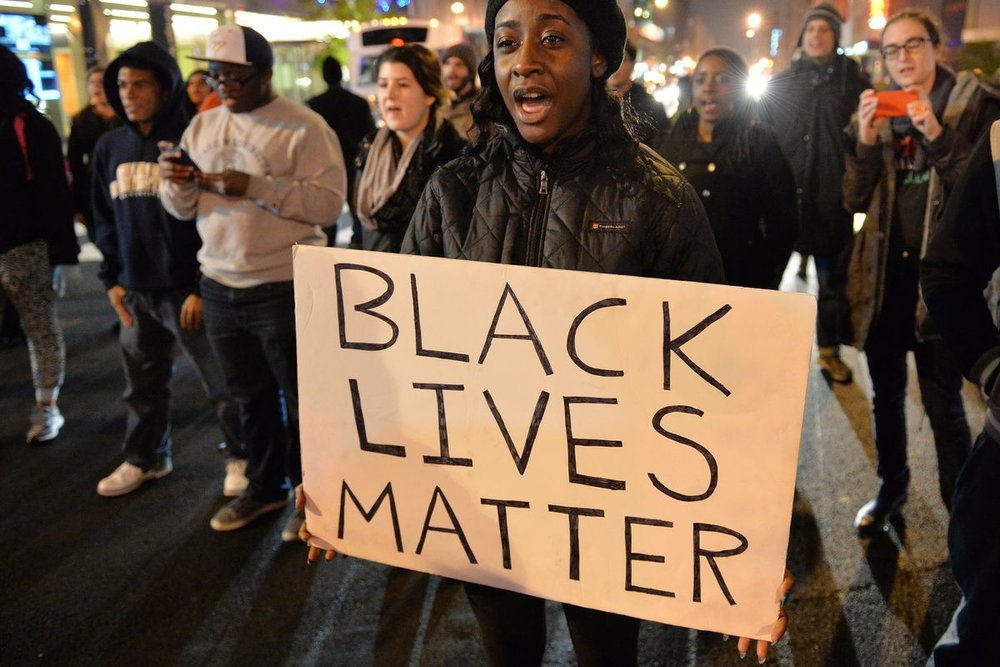We all started recording, exposing, and noticing the fact that some cops just can't stop killing black people.
