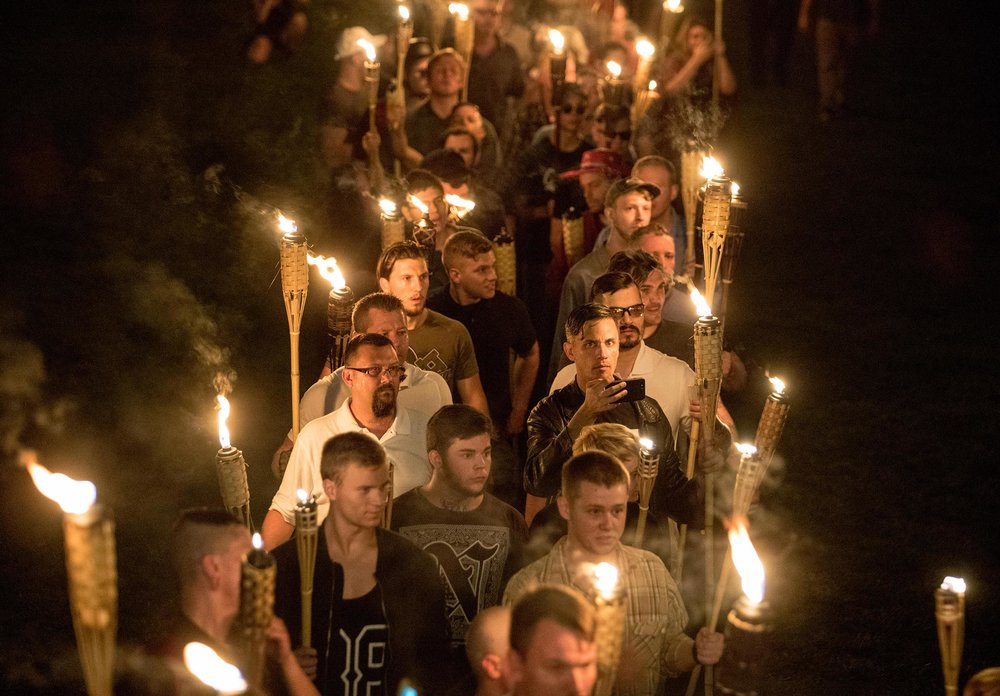 The tiki-torch industry could never be the same again.