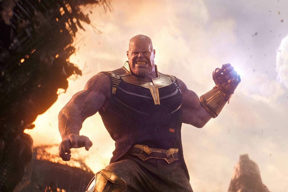 "I can see it now: ""Thanos vs. God: The Meaning of Omnipotence"""