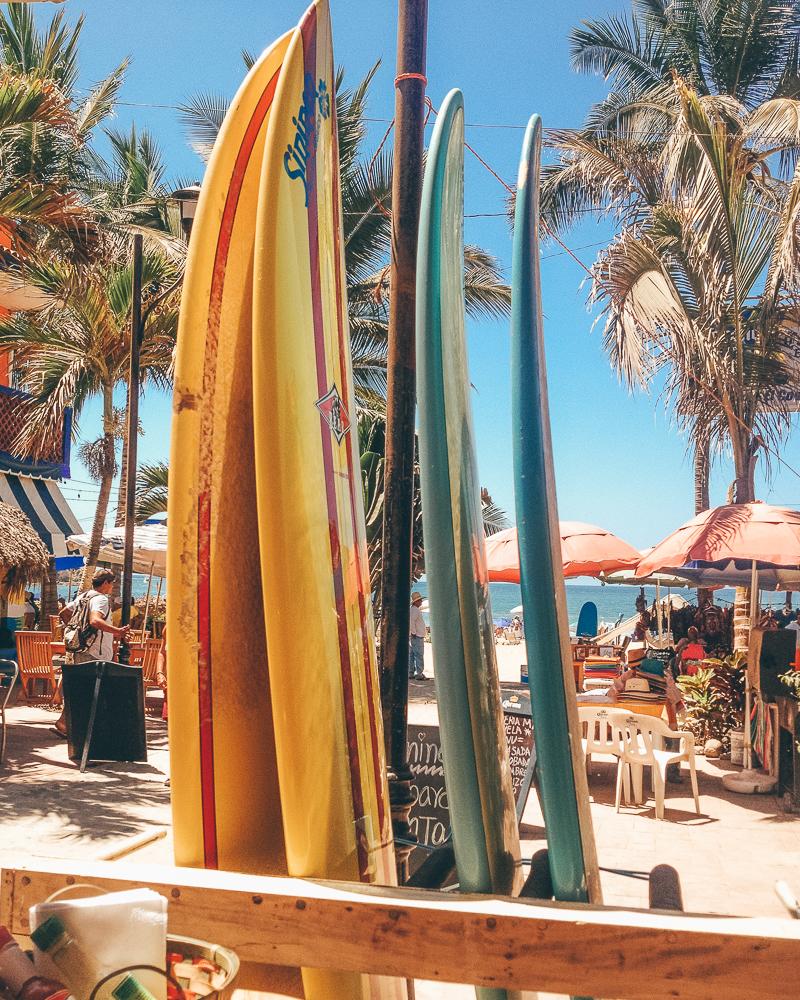 surfboards Sayulita