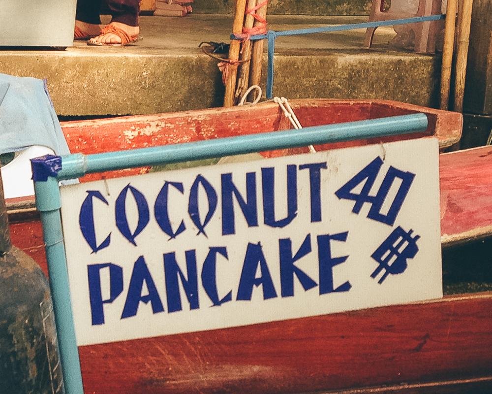 Thai Coconut Pancake