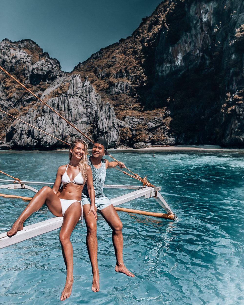 boating in El Nido