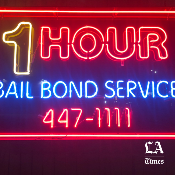 Under the glare of neon signs and unforgiving fluorescent office lights, bail agents are spending time processing a new California law signed just days ago by Gov. Jerry Brown that could decimate their industry.  The new system, which would virtually eliminate the payment of money as a condition of release, could spell doom for not only bail agents, bounty hunters and surety companies across the state, but also a $2-billion bail industry nationwide. Reform in California, which holds roughly a quarter of the market, could prompt other states to follow suit, bail groups and lobbyists said.  Reaction has been swift: Just a day after Brown signed the bill into law, bail associations filed a voter referendum in an attempt to block it, asking for support from the very criminal justice groups and activists they've long been at odds with. Now agents say they are scrambling to find new careers, closing up shop or weighing whether to move their businesses out of state.  Read  here .